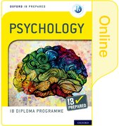 Cover for Oxford IB Diploma Programme IB Prepared: Psychology (Online)