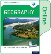 Cover for Oxford IB Diploma Programme IB Prepared: Geography (Online)
