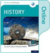 Cover for Oxford IB Diploma Programme IB Prepared: History (Online)