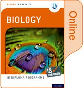 Cover for Oxford IB Diploma Programme IB Prepared: Biology (Online)