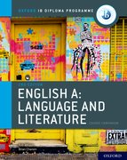 Cover for IB English A: Language and Literature IB English A: Language and Literature Course Book