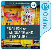 Cover for IB English A: Language and Literature IB English A: Language and Literature Online Course Book