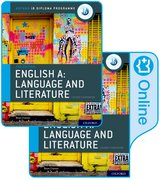 Cover for IB English A: Language and Literature IB English A: Language and Literature Print and Online Course Book Pack