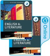Cover for IB English A: Literature IB English A: Literature Print and Online Course Book Pack