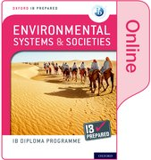 Cover for Oxford IB Diploma Programme IB Prepared: Environmental Systems and Societies (Online)
