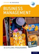 Cover for Oxford IB Diploma Programme IB Prepared: Business Management