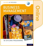Cover for Oxford IB Diploma Programme IB Prepared: Business Management (Online)