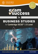 Cover for Exam Success in Business Studies for Cambridge IGCSERG & O Level