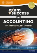 Cover for Exam Success in Accounting for Cambridge IGCSERG & O Level