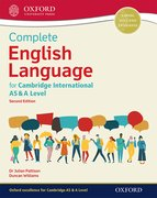 Cover for Complete English Language for Cambridge International AS & A Level