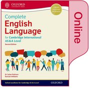Cover for English Language for Cambridge International AS & A Level