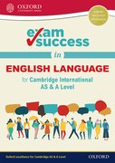 Cover for Exam Success in English Language for Cambridge International AS & A Level