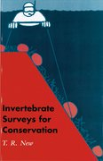 Cover for Invertebrate Surveys for Conservation