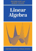 Cover for Linear Algebra