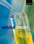 Cover for Analytical Chemistry