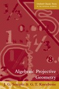 Cover for Algebraic Projective Geometry