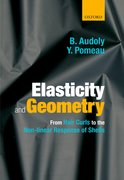 Cover for Elasticity and Geometry