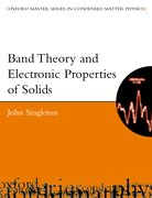 Cover for Band Theory and Electronic Properties of Solids