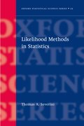 Cover for Likelihood Methods in Statistics
