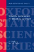 Cover for Symbolic Computation for Statistical Inference