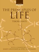 Cover for The Principles of Life