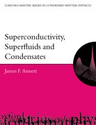 Cover for Superconductivity, Superfluids, and Condensates