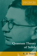 Cover for Quantum Theory of Solids