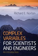 Cover for Complex Variables for Scientists and Engineers