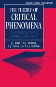 Cover for The Theory of Critical Phenomena