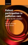 Cover for Patient Participation in Palliative Care