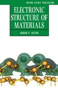 Cover for Electronic Structure of Materials