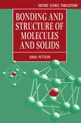 Cover for Bonding and Structure of Molecules and Solids