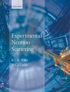 Cover for Experimental Neutron Scattering