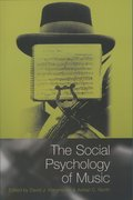 Cover for The Social Psychology of Music