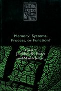 Cover for Memory: Systems, Process, or Function?
