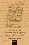 Cover for A Discourse Concerning Algebra