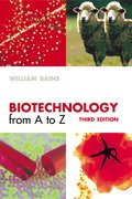 Cover for Biotechnology from A to Z