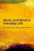 Cover for Music and Mind in Everyday Life