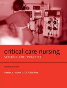 Cover for Critical Care Nursing