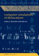 Cover for Computer Simulations of Dislocations