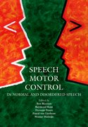 Cover for Speech Motor Control