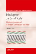 Cover for Tribology on the Small Scale