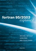 Cover for Fortran 95/2003 Explained