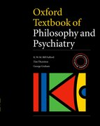 Cover for Oxford Textbook of Philosophy of Psychiatry