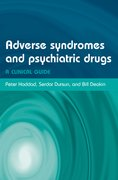 Cover for Adverse Syndromes and Psychiatric Drugs
