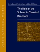Cover for The Role of the Solvent in Chemical Reactions