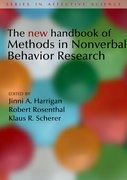 Cover for The New Handbook of Methods in Nonverbal Behavior Research