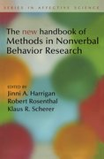 Cover for New Handbook of Methods in Nonverbal Behavior Research