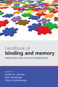 Cover for Handbook of Binding and Memory