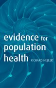 Cover for Evidence for Population Health